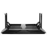 Router Wireless NETGEAR Gigabit Nighthawk X6 R8000 AC3200, Tri-Band 600 + 1300 + 1300Mbps, USB 3.0, USB 2.0, negru