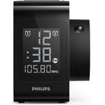 Radio cu ceas PHILIPS AJ4800/12, FM, proiectare ora, negru