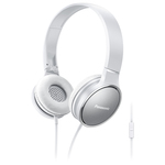 Casti on-ear cu microfon PANASONIC RP-HF300ME-W, alb