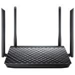 Router Wireless ASUS Gigabit RT-AC1200G Plus, Dual-Band 300 + 867Mbps, WAN, LAN, USB 2.0, negru