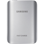 Acumulator extern universal, SAMSUNG EBPG930BSE Fast IN&OUT, 5100mAh, Silver