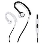 Casti sport in-ear cu microfon PIONEER SE-E711T-W, alb