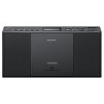 Sistem audio SONY ZS-PE60B, CD, FM, negru