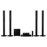Sistem Home Cinema Smart Blu-ray 3D 5.1 SAMSUNG HT-J5550W, 1000W, LAN, Wi-Fi, USB negru
