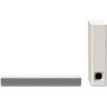 Soundbar compact 2.1 SONY HT-MT301, subwoofer wireless, 100W, Bluetooth, NFC, alb