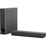 Soundbar compact 2.1 SONY HT-MT500, HI-Res, subwoofer wireless, 155W, Bluetooth, NFC, Negru