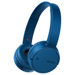 Casti on-ear cu microfon Bluetooth SONY MDR-ZX220BTL, NFC, albastru