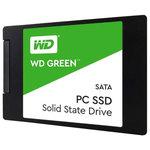 "Solid-State Drive WESTERN DIGITAL Green 120GB, SATA3, 2.5"", WDS120G1G0A"