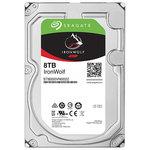 Hard Disk desktop Seagate IronWolf NAS 8TB, 7200RPM, SATA3, 256MB, ST8000VN0022