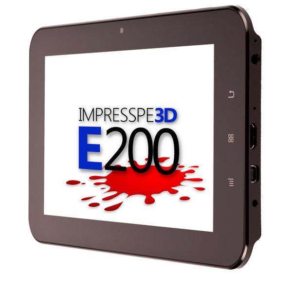 "Tableta E-BODA Impresspeed E200, 7"", Cortex A8 1.2GHz, 8GB, Android 4.0"