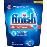 Detergent vase FINISH All in One Max 50 tablete pentru masina de spalat vase