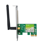 Placa de retea wireless TP-LINK TL-WN781ND, PCI-E, 150Mbps