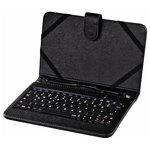 """Husa de protectie cu tastatura HAMA U6050469 pentru tableta de 10.1"""", negru"""