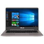 """Ultrabook ASUS ZenBook UX410UQ-GV105T, Intel® Core™ i5-7200U pana la 3.1GHz, 14"""" Full HD, 8GB, HDD 500GB + SSD 128GB, NVIDIA GeForce 940MX 2GB, Windows 10"""