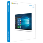 Microsoft Windows 10 Home FPP, English, 32/64bit, USB