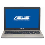 "Laptop ASUS X541UA-DM1224, Intel® Core™ i5-7200U pana la 3.1GHz, 15.6"" Full HD, 4GB, 1TB, Intel® HD Graphics 620, Endless"